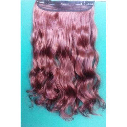Волосы шиньон