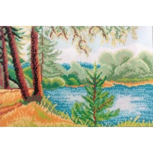 Канва.Рисунки на канве.
