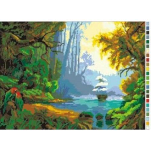 Рисунок на канве Нитекс