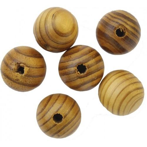 Бусины деревянные