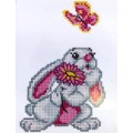 Зайчишка. Набор для вышивания крестом. Артикул: 198