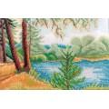 739 Природа 25*35 рисунок на канве