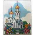 869 Церковь2 25*37 (рисунок на канве)