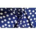 78РФД10С6 Атлас набивной сине-белый шир.150см