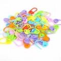 Булавки пластмассовые для петель(маркер для вязания) упак.100 шт