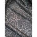 4341MK Трикотаж-жаккард темное серебро пр.во Корея,  шир 150см, п/э 100