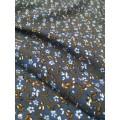 758РФД806С1 Штапель принт т.джинсовый шир.150см 180гр/м2 60%хл.40%виск.
