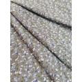 128РФД69С06 Штапель принт серый 60%вискоза 40% хлопок шир.150см Корея