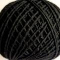 6208-1064 Шнур 2мм черный 100%хб упак.100м