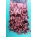 Волосы(шиньон)5с33м35(ярко-рыжий)