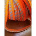 Кант светоотражающий флюор.оранж.,лимон./серебро (уп.100м)